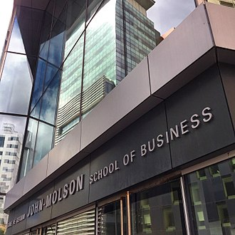 John Molson School of Business - Image: John Molson School of Business Montreal