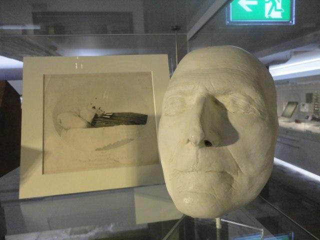 John Wesley's Death Mask