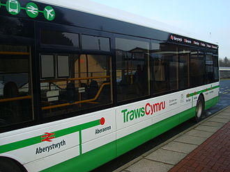 TrawsCymru - Richards Brothers Optare Tempo in January 2015