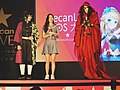 Jojo, King and Xi Zhen on the stage 20191012c.jpg