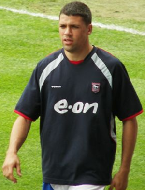 Jonathan Walters - Walters playing for Ipswich Town in 2007