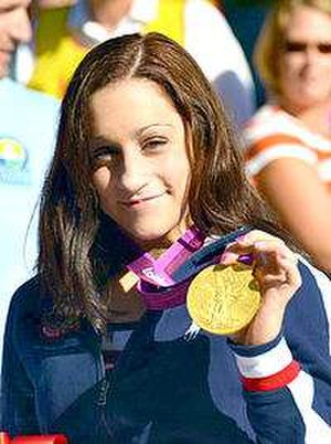 Jordyn Wieber - Wieber at a parade after the Olympics