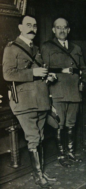 Concordancia (Argentina) - Generals Uriburu and Justo formed the Concordance with right-wing politicians who shared their distrust of the electorate.