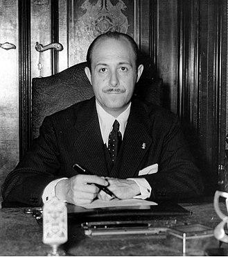 José Finat y Escrivá de Romaní - José Finat y Escrivá de Romaní as Ambassador to Germany in 1941 (National Digital Archive, Poland)