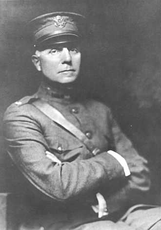 John A. Hartwell - Hartwell in military uniform, c. 1918