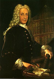 Formal portrait of Juan de Goyeneche, wearing a wig