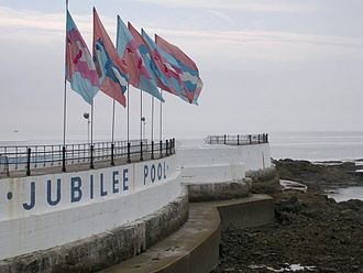 History of lidos in the United Kingdom - Jubilee Pool, Penzance—a saltwater lido