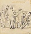 Jules Pascin - Group of Men, New York - BF614 - Barnes Foundation.jpg