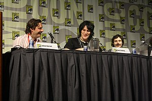 Noel Fielding - Fielding and co-stars of The Mighty Boosh at a panel at Comic Con