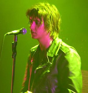 Julian Casablancas - With The Strokes in 2006
