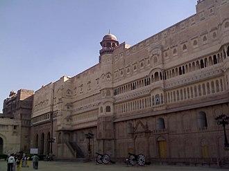 Bikaner - Junagarh Fort, Bikaner, Rajasthan, India