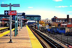Junction Boulevard (IRT Flushing Line) - Image: Junction Blvd Station