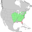 Juniperus virginiana vars range map 1.png