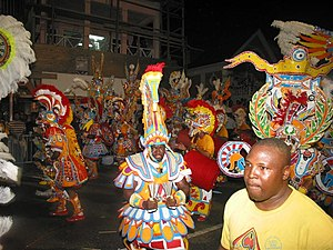 Music of the Bahamas - Junkanoo celebration in Nassau