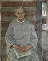 Jury Gavrilovich Gorelov - Portrait of mother, 1970.jpg
