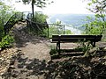 Königswinter Drachenfels Aufstieg Aussichtsplattform.jpg