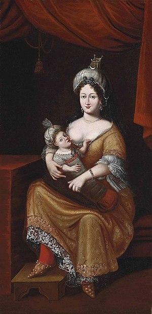 Kösem Sultan - Kösem Sultan and her son
