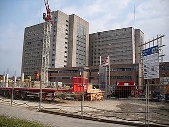 Ghent University Hospital - Image: K12 UZ Gent België
