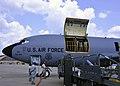 KC-135R Stratotanker cargo loading at Joint Base Andrews on Aug. 1, 2017.jpg