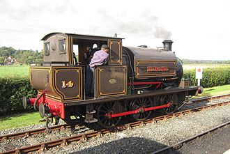 Charwelton - The tank engine Charwelton pulled ironstone trains from a quarry near Hellidon to Charwelton railway station from 1917 until 1942