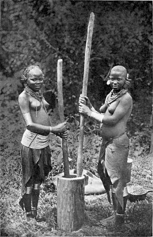 Hulda Stumpf - Kikuyu women in 1911