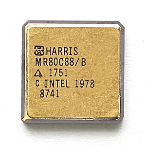 Harris Corporation - Harris MR80C88 processor