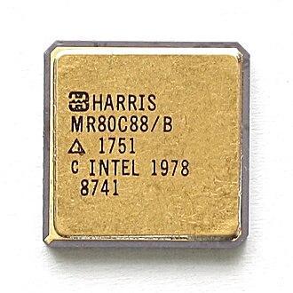 Harris Corporation - Harris MR80C88 processor