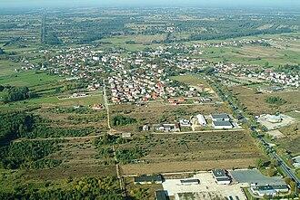 Kałuszyn - Aerial view