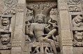 Kailasanatha Temple, dedicated to Shiva, Pallavve period, early 7th century, Kanchipuram (24) (37426722922).jpg