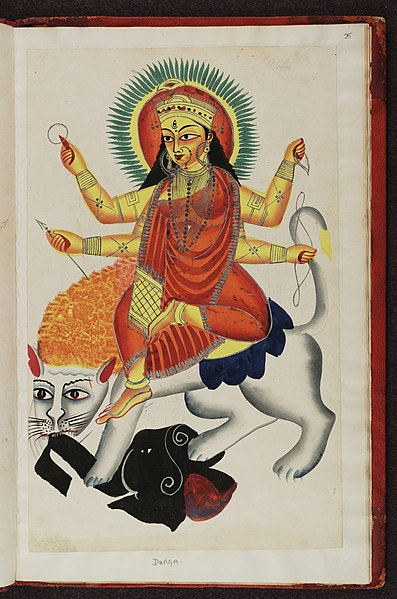 File:Kalighat pictures Indian gods f.25.jpg