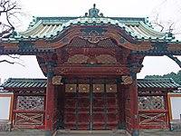 Kaneiji Genyuin Mausoleum Gate.JPG
