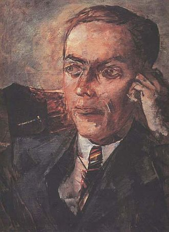 Leonid Kantorovich - Image: Kantorovich (Petrov Vodkin)