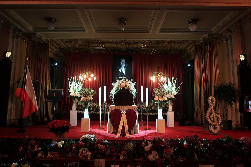 Karel Gott pohřeb