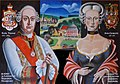 Karel Tomáš, III. kníže z Löwensteinu,Wertheimu a Rochefortu s manželkou Marií Charlotte, princeznou von Schleswig-Holstein-Sonderburg-Wiesenburg.jpg