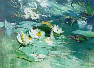 Bröhan Museum - Karl Hagemeister: Water Lilies.