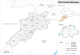 Image illustrative de l'article District des Franches-Montagnes