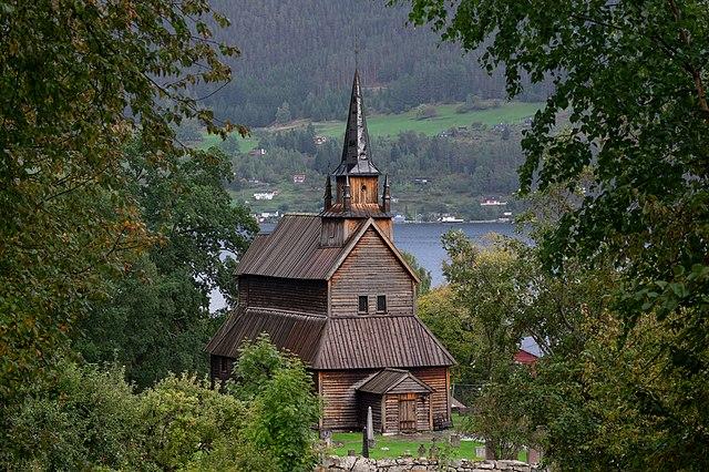 Bilde av Kaupanger stavkirke