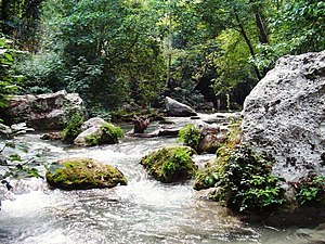 Limonlu River - Limonlu in the Kayacı valley