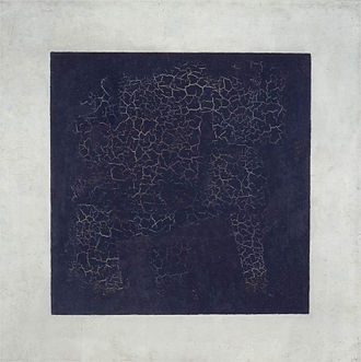 Minimalism - Kazimir Malevich, Black Square, 1915, oil on canvas, 79.5 x 79.5 cm, Tretyakov Gallery, Moscow