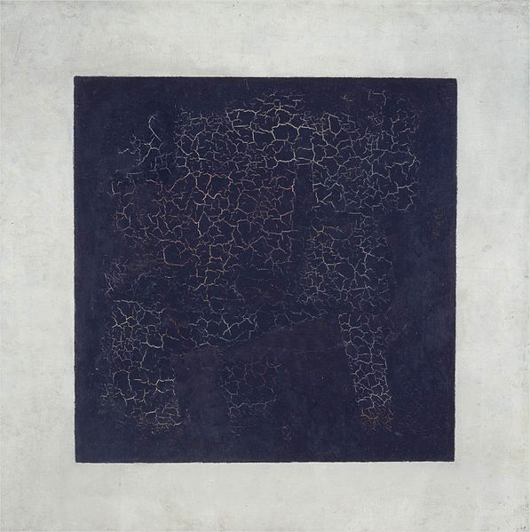 File:Kazimir Malevich, 1915, Black Suprematic Square, oil on linen canvas, 79.5 x 79.5 cm, Tretyakov Gallery, Moscow.jpg