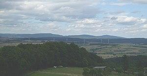 Kellerwald - Image: Kellerwald vom Burgholz