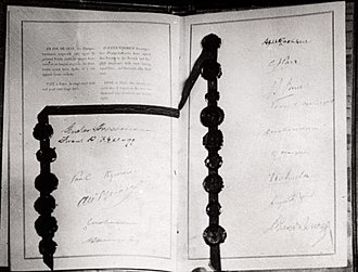 Kellogg–Briand Pact - Image: Kellogg–Briand Pact (1928)
