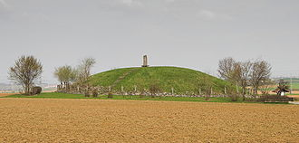 Celtic polytheism - A reconstructed Celtic burial mound near Eberdingen, Germany. Such burials were reserved for the influential and wealthy in Celtic society.
