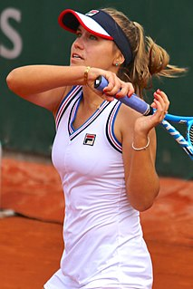 Sofia Kenin American female tennis player