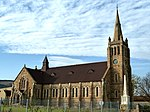The foundation stone was laid on 25 September 1851 by gen. Lucas Meyer. The church building was inau Type of site: Church Current use: religious. This church was built at a cost of R26 000 and was consecrated on 12 October 1894. The building was
