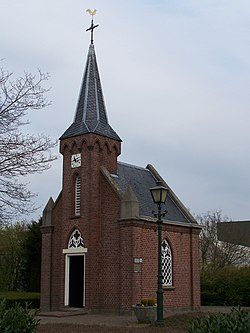 "Church ""De Rietstap"": the smallest church in the Netherlands"
