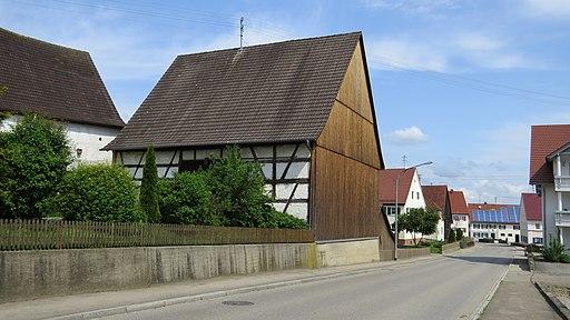 Kettershausen - Bebenhausen - Bergweg Nr 2 Fachwerkstadel v SO