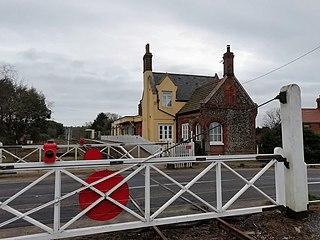 Kimberley Park railway station Railway station in Norfolk, England