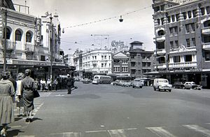 Kings Cross, New South Wales - Kings Cross circa 1960.