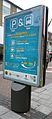 Kingston park and ride advert Clarence Street.JPG